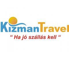 Utazás - Üdülés jó áron a KizmanTravel.hu Portálon!