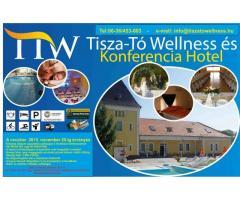 Üdülés a Tisza-tónal 50 % kedvezménnyel: 3 nap 2 éj /2 fő reggelis ellátással