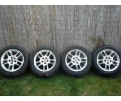 Eladó 4 db Ronal LZ alufelni 215/55 r16 Dunlop Sport Maxx nyárigumival.