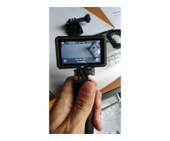 Niceboy Vega 5 Pop 4k akciókamera tartozékokkal.