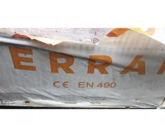 Terran Danubia tetőcserép sötétbarna új eladó