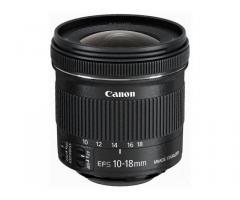 Eladó Canon 10-18mm-es objektív