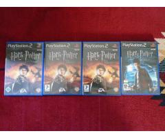 PS2 Harry Potter játékok 2db