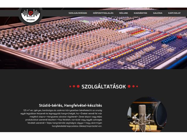 Stúdió-bérlés, Hangfelvétel-készítés,  Utómunkák, Mixing