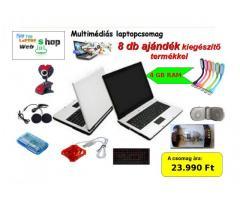 Multimédiás laptopcsomag
