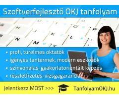 Szoftverfejlesztő OKJ-s tanfolyam Budapesten