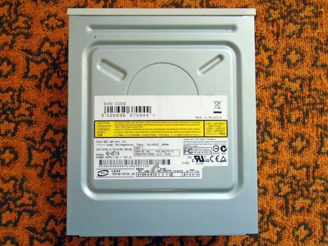 Sony NEC DVD-RW PATA