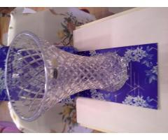 Bohémia kristály váza