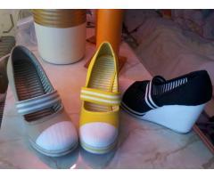 3 pár nói 35 ős újszerü amerikai teletalpú cipő