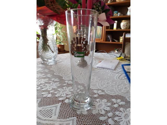 6 db Gösser sörös pohár eladó.