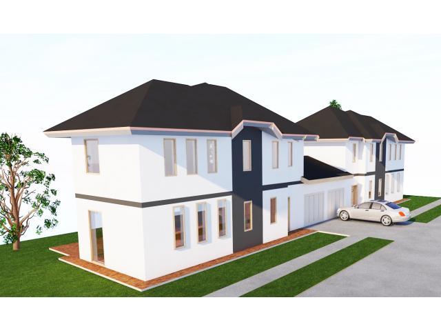 Garázzsal rendelkező új Ikerház eladó a XVIII. kerület Ganz Kertváros Kerékkötő  utcában