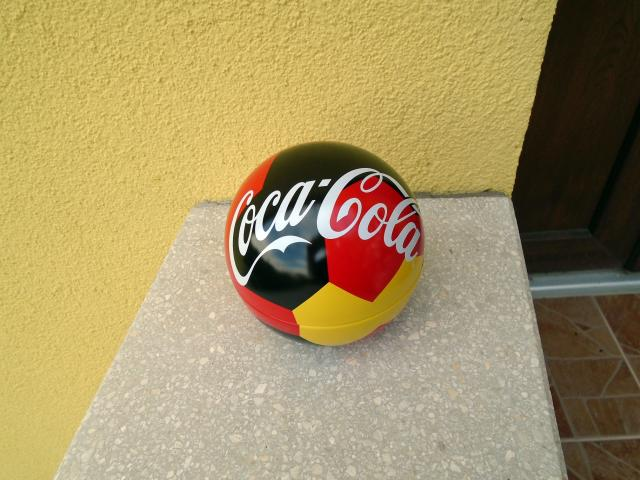 Coca Cola fém focilabda 2018